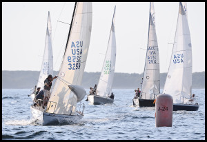 J24 Evening Race @ Entrance Portsmouth Harbor 1.5nm SSE 2KR