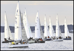 J24 Evening Race @ Portsmouth Harbor Entrance 1.5nm SSE 2KR